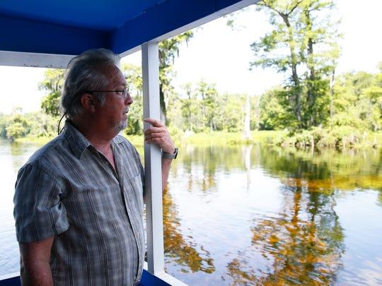 Dr. Sean E. McGlynn, director of the Wakulla Springs