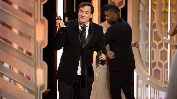 And the Golden Globe for Most Bizarre Speech goes to