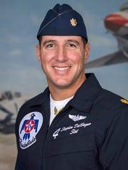 Air Force Thunderbirds pilot Maj. Stephen Del Bagno