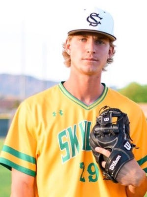 Skyline pitcher Boyd Vander Kooi has done it with his arm and bat to be the top player halfway through the season.
