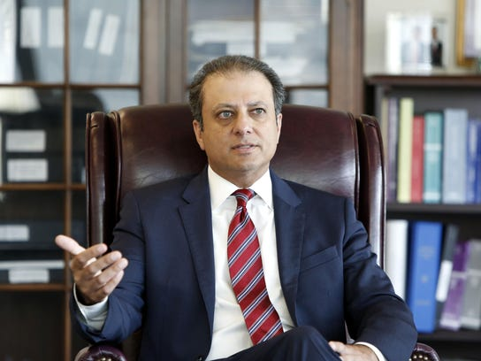 Preet Bharara, the U.S. attorney for the Southern District