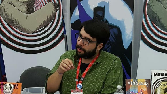 James Tynion IV, comic book writer, is currently writing