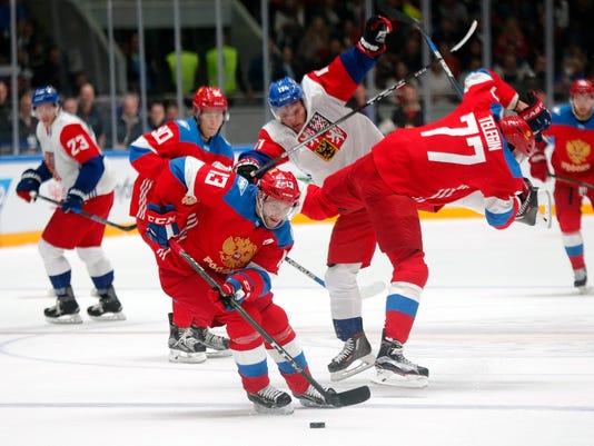 Russia vs Czech Republic