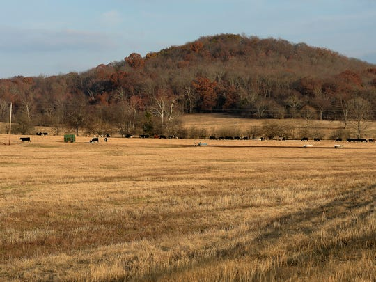 The 2,000-acre parcel proposed for development along