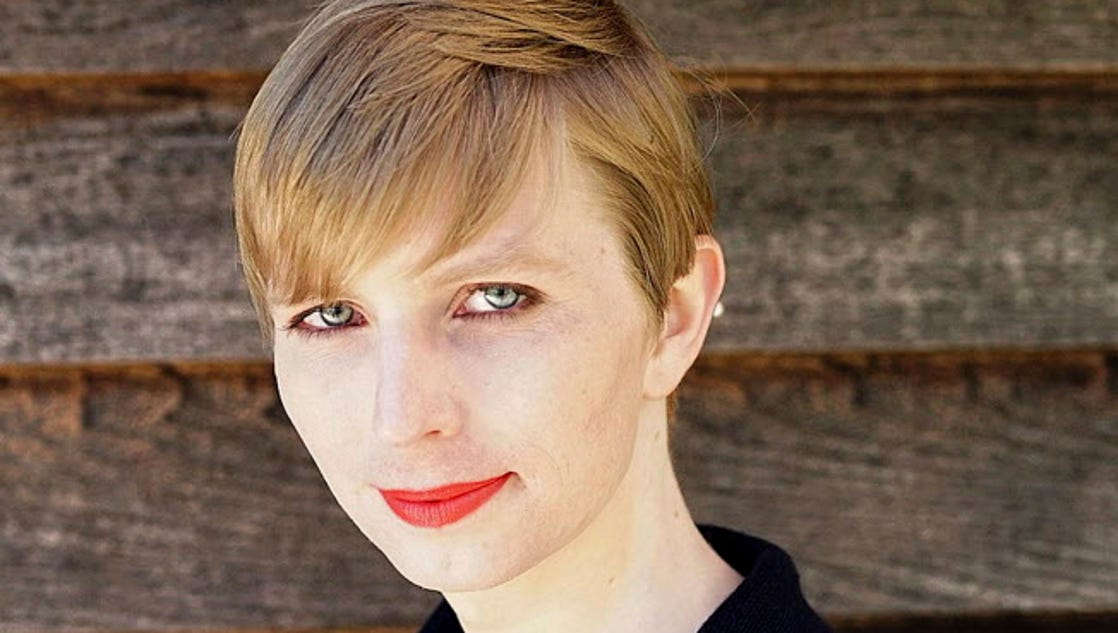 Chelsea Manning joins first pride march since prison release