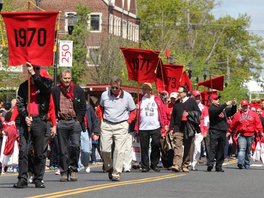 The annual Rutgers Day events, along with Ag Field Day and the New Jersey Folk Festival were held in and around Rutgers University campus on Saturday April 30, 2016