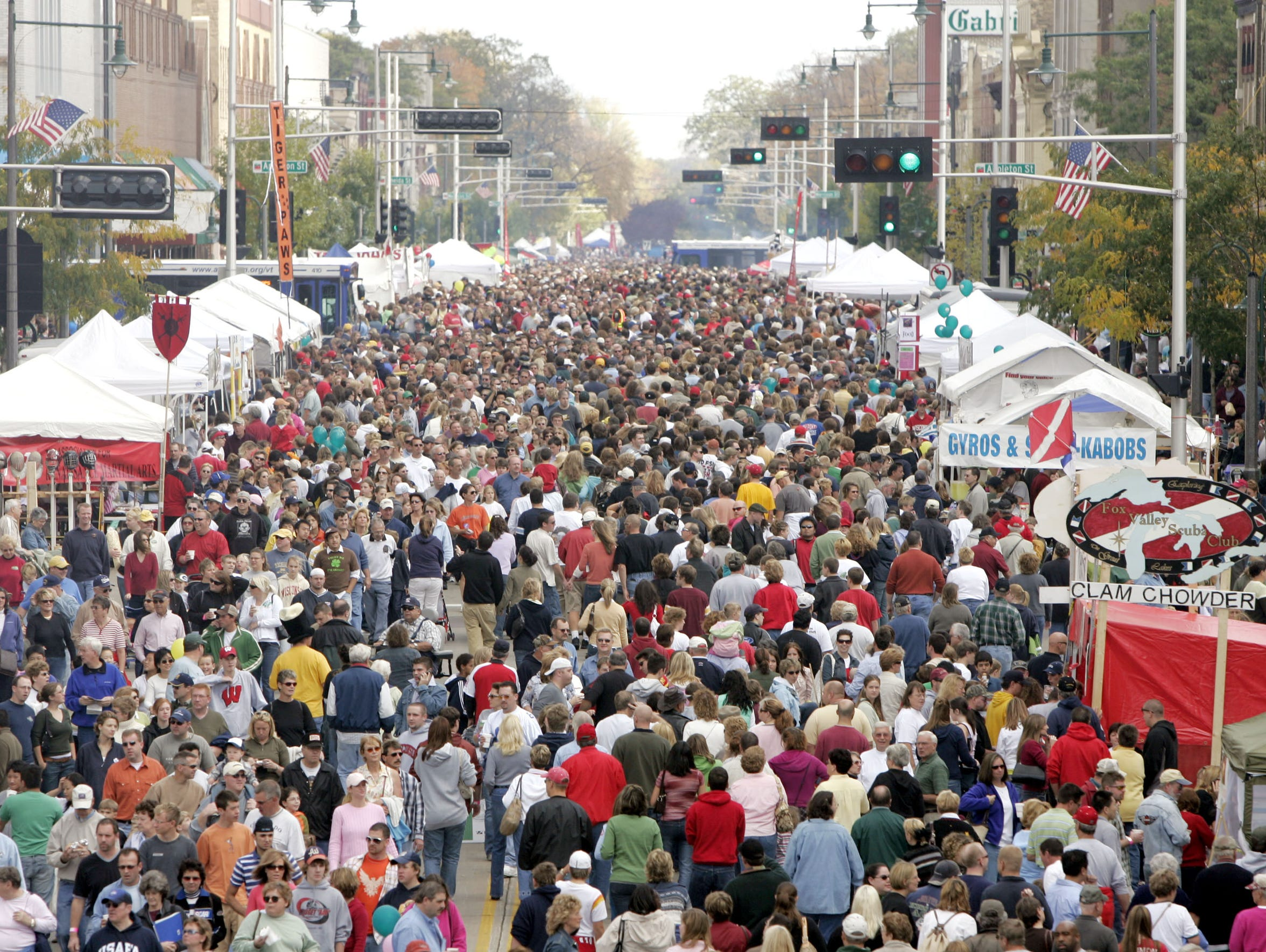 Nothing packs College Avenue quite like Octoberfest.