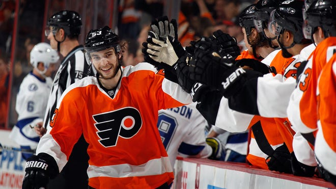 Last season Shayne Gostisbehere was sent back to the minors before he could play in his home state of Florida.