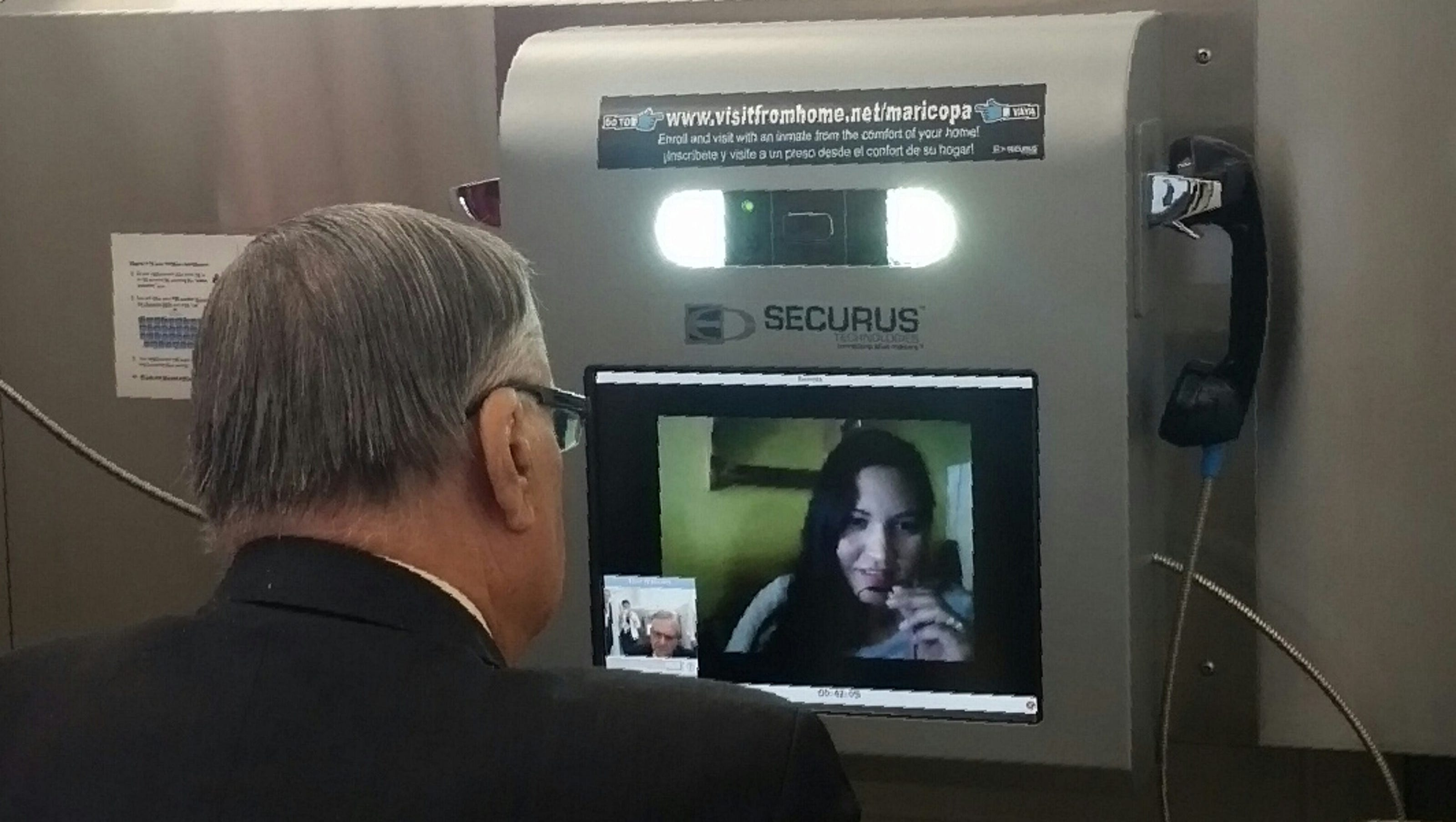 Video Chats Replace In Person Visits At County Jails