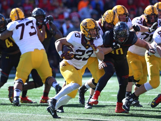 NCAA Football: Minnesota at Maryland