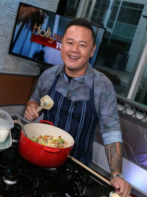 HOLLYWOOD, CA - AUGUST 12:  Chef Jet Tila visits Hollywood Today Live at W Hollywood on August 12, 2016 in Hollywood, California.  (Photo by David Livingston/Getty Images)