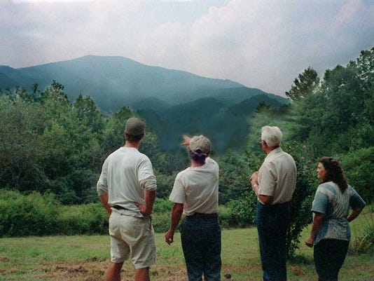 BLUFF MOUNTAIN TIMBER CONTROVERSY... 08/29/96