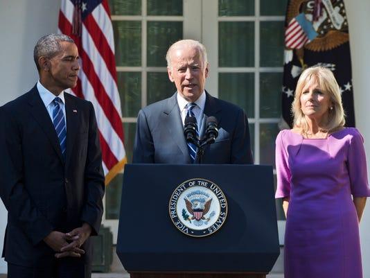 Joe Biden, Jill Biden, Barack Obama