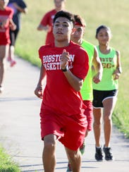 Jaime Lauriano of the Robstown Cotton Pickers Cross-Country