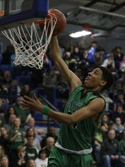 Oshkosh North head coach Brad Weber said senior Tyrese Haliburton led the team in 2017-18. Haliburton is now playing basketball and Iowa State University.
