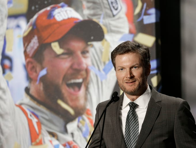 April 25, 2017: Dale Earnhardt Jr. announced he would