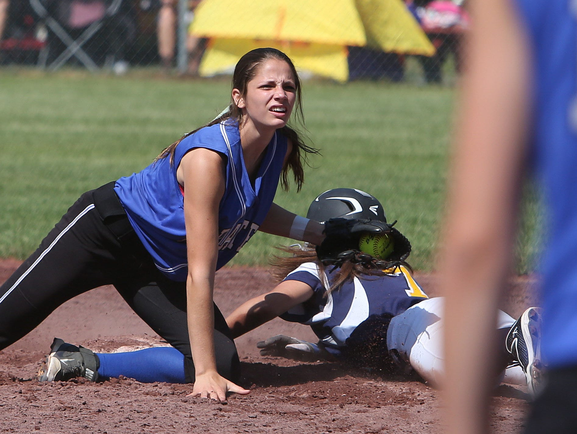 Averill Park defeated Pearl River 5-2 in the class A NYSPHSAA girls softball semifinal in South Glens Falls June 13, 2015.