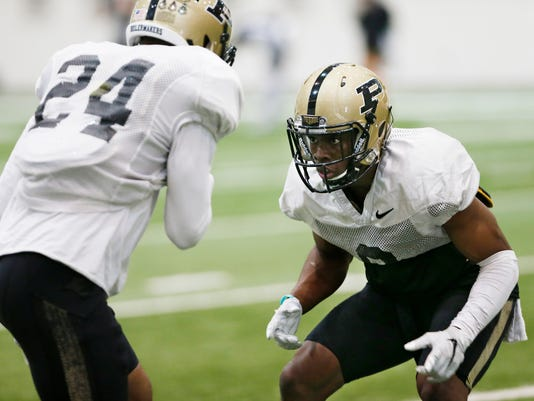 LAF Purdue football spring practice Day 9