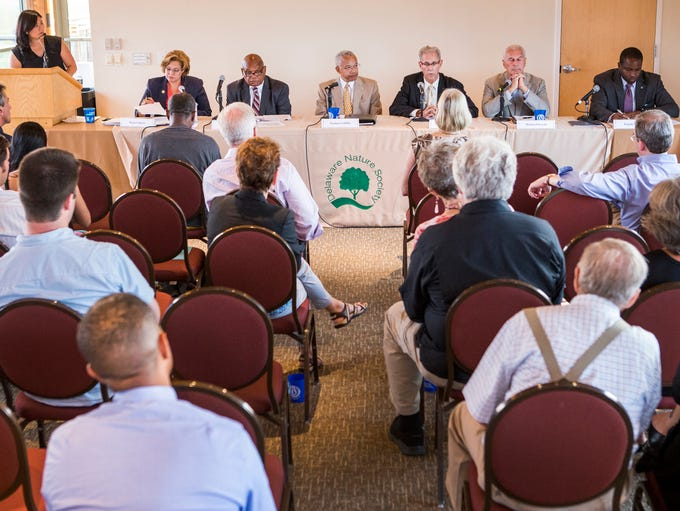 Wilmington mayoral candidates debate environmental