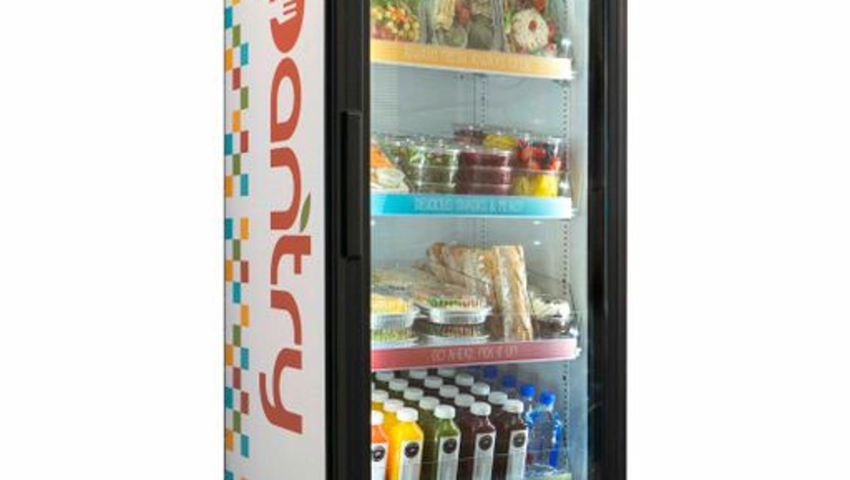 Vending Machines Get A High Tech Makeover