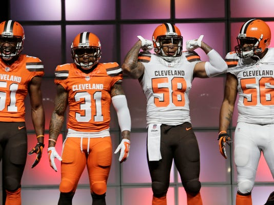 Barkevious Mingo, Donte Whitner, Chris Kirksey, Karlos Dansby