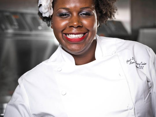 Chef Reva Constantine will create a four-course dinner for guests at the Dining in the Dark event.