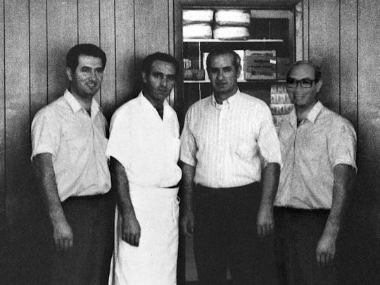 The Daoud brothers who founded Gold Star Chili in 1965 in Mt. Washington.