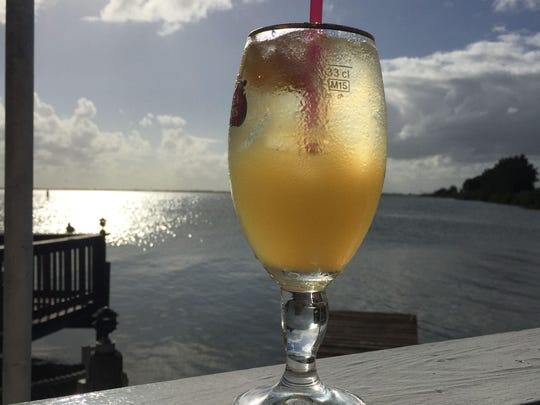 Enjoy drinks, dinner and a casual atmosphere at Sunset Waterfront Grill and Bar on the 520 Causeway in Cocoa Beach.