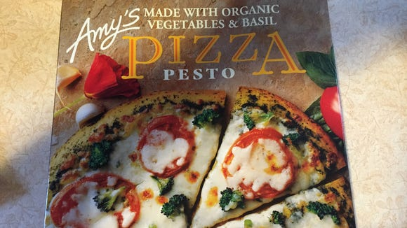 Amy's foods offers a variety of organic frozen foods such as Pizza Pesto