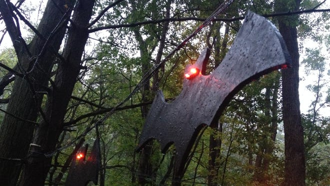 Hayes Arboretum's Witch in the Woods event is one of the area's haunted attractions.