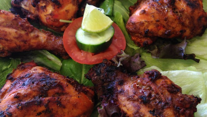 Tandoori chicken from Le Gourmet India in Fort Myers.