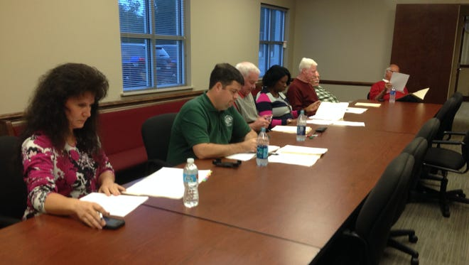 The Millbrook City Council preparing to go through interviews on Monday, Nov. 9, to determine a new council member for Ward 4.