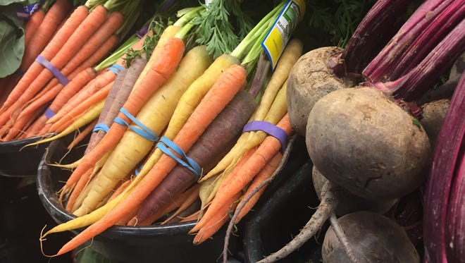 Vegetables available at Adams Fairacre Farms in Wappingers Falls.