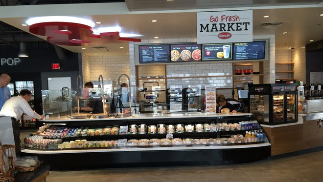 The new Kum & Go in Johnston offers expanded fresh food options.