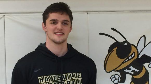Hayesville senior Zach Cottrell.