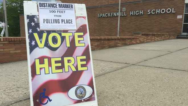 Voters in the Spackenkill Union Free School District could vote at Spackenkill High School Tuesday.