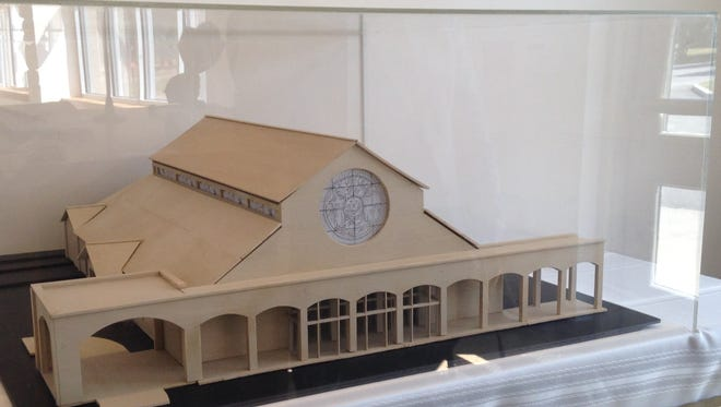 St. Pius Tenth Church reveals model for the new building.