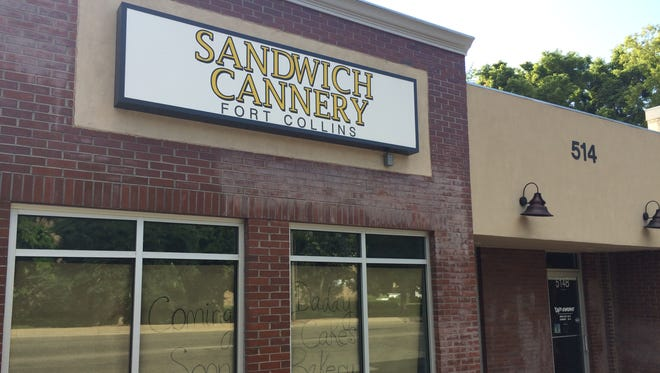 Daddy Cakes Bakery will replace the old Sandwich Cannery at 514 S. College Ave. next month.