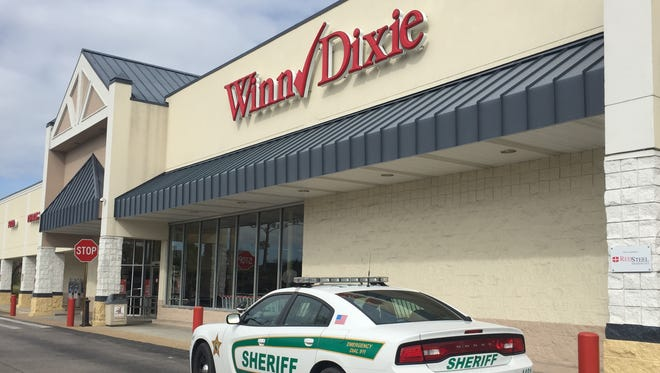An attempted armed robbery was reported Monday morning at the Winn-Dixie grocery store on Oslo Road.