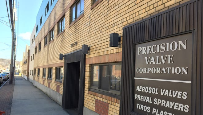 The former Precision Valve Corporation at 700-710 Nepperhan Ave. in Yonkers.