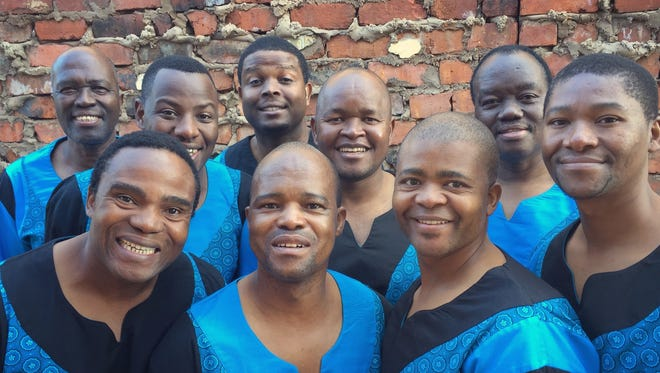 Ladysmith Black Mambazo will perform at 7 p.m. on Feb. 18 at the Weill Center for the Performing Arts.