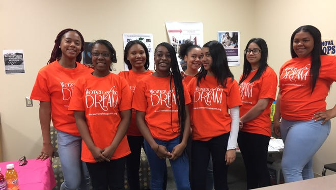 Eight Camden girls will enjoy a weekend trip to Boston to visit a women's college and hear from successful women of color, courtesy of Women of the Dream, a city-based nonprofit.