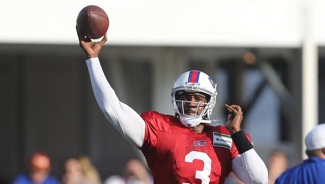 EJ Manuel is now in his fourth season with the Bills.