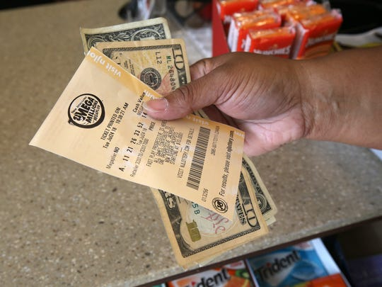 A $10,000 winning Mega Millions ticket was sold at the QuickChek at 5 Leesville Road in Jackson on Friday.