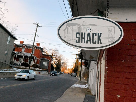 The Shack, located on South Coalter Street in Staunton.
