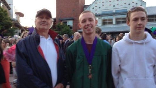The Rice brothers and their father.