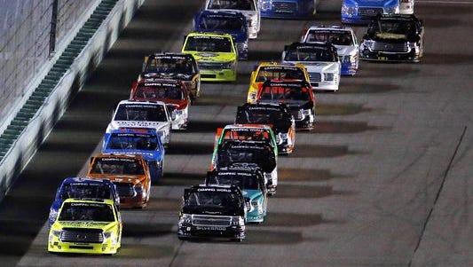 The NASCAR Camping World Truck Series will make use of a caution clock beginning this season.