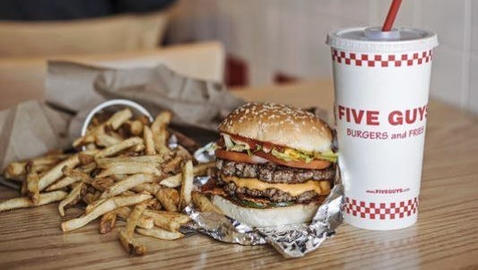 Five Guys Burgers and Fries has closed one of its two Springettsbury Twp. locations.