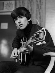 George Harrison is seen in this Dec. 2, 1963, file
