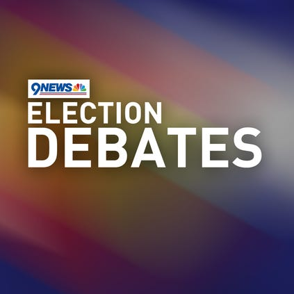 9NEWS will host three debates for the big three races in this fall's election.